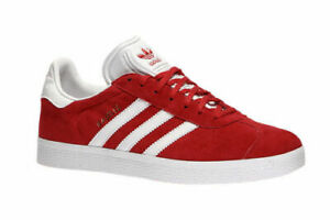 Adidas-Originals-Gazelle-S76228-Red-Suede-Leather-Men-Shoes