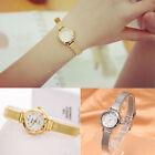 Fashion Women's Lady Bracelet Stainless Steel Crystal Dial Quartz Wrist Watch CH