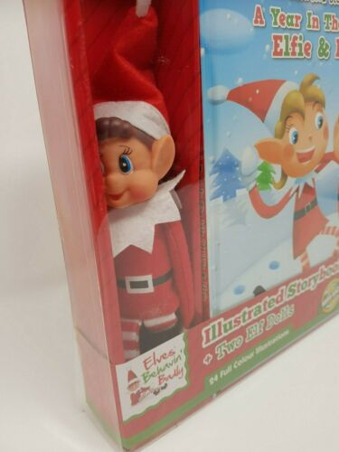 Elf Noël Tradition Book 2 Elfes Behavin mal sur le plateau coffret coquin