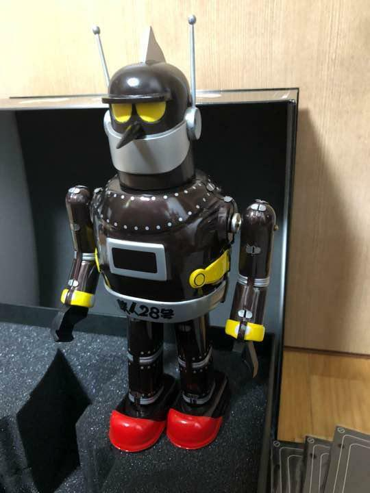 Tetsujin 28 Really live action version tin tin box Limited item box rare from JP