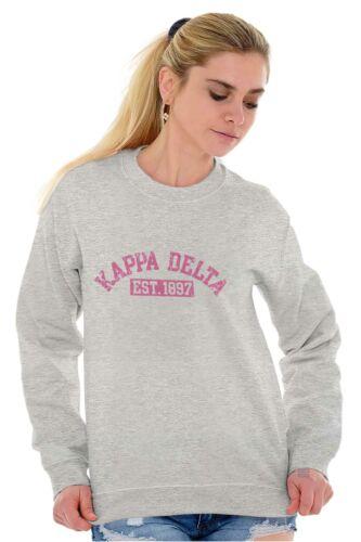 Varsity College Kappa Delta Sorority Gift Sweat Shirt Sweatshirt For Womens
