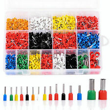 2120pcs Insulated Cord Pin End Terminal Bootlace Ferrules Kit Wire Copper Set