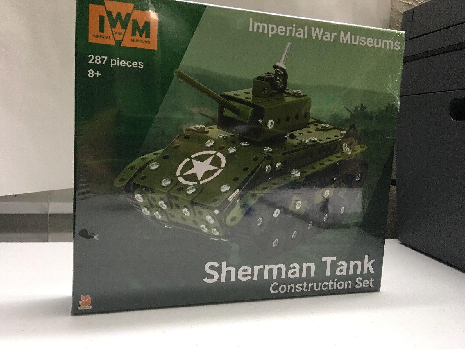 Imperial War Museums Museums Museums Sherman Tank Construction Set 4a0e3b
