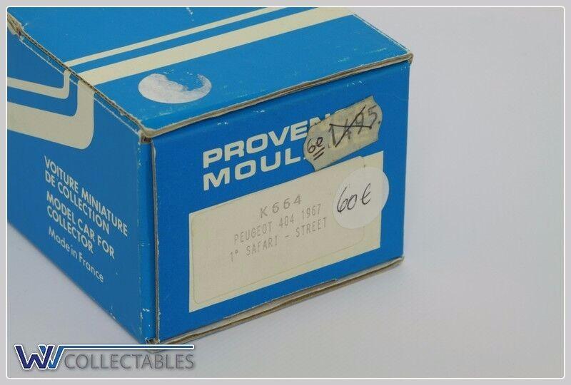 Provence MOULAGE PEUGEOT 404 1967 1 Safari rue K 664   autorisation officielle