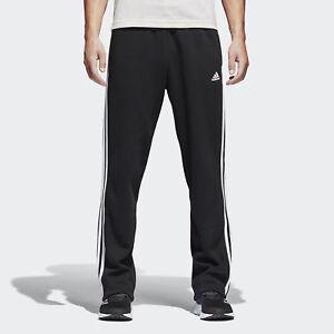adidas-Essentials-3-Stripes-Fleece-Pants-Men-039-s