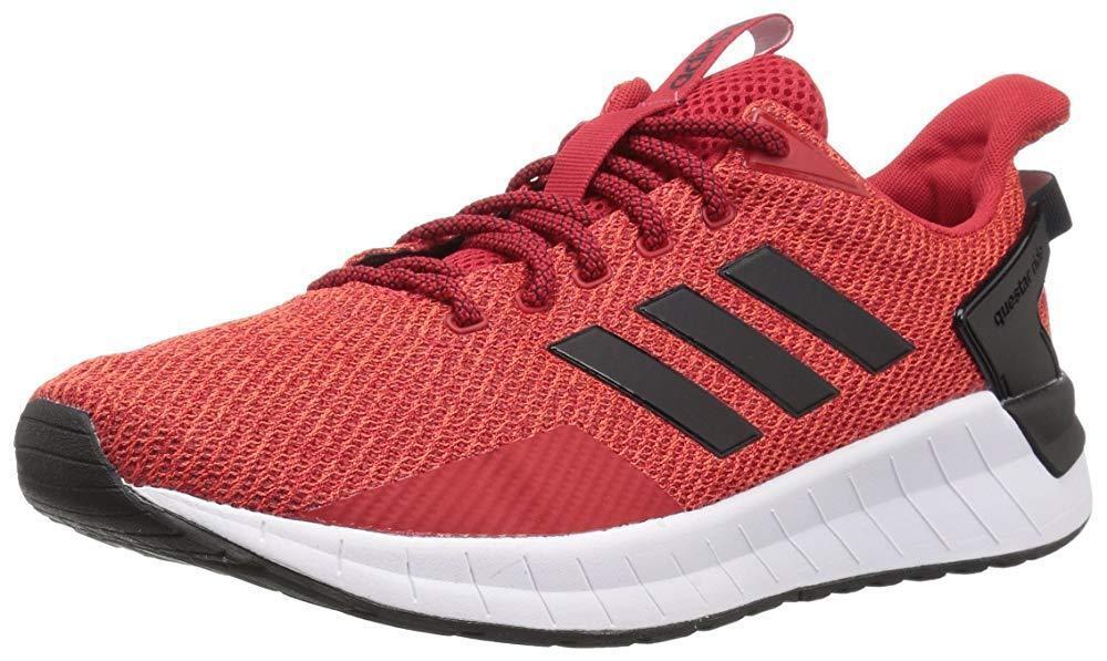 adidas Férfi Questar Ride futócipő, Scarlet / fekete / hi-res piros, 14 M amerikai