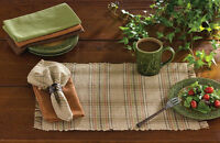 Placemat Set Of 2 - Serrano By Park Designs - Kitchen Dining Green