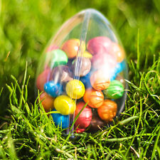 10x Egg Shaped Fillable Container (100mm) Wedding Favours Easter Decoration Xmas