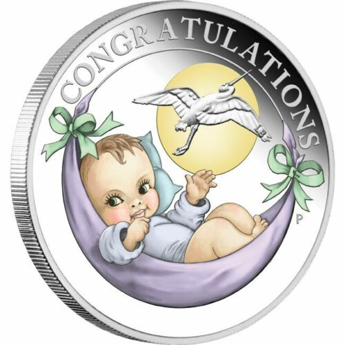 2020 Newborn Baby 1//2oz Silver Proof Coin