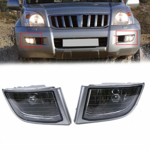 for Toyota Land Cruiser Prado J120 2002-09 Front Bumper Fog Light Driving Lamps