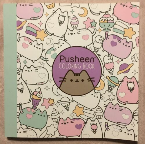 Pusheen Coloring Book By Claire Belton (2016, Trade Paperback) For Sale  Online EBay