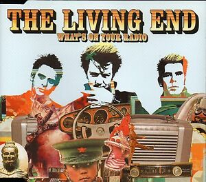 THE-LIVING-END-WHAT-039-S-ON-YOUR-RADIO-CD-SINGLE-3-TRACKS-2005