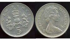 ROYAUME UNI   five   5  pence 1979   ( bis )