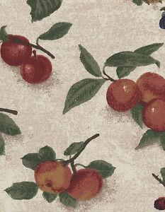 Longaberger-7-inch-Measuring-Basket-Fruit-Medley-Fabric-Liner-NIP