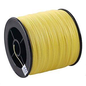 Yellow-SPECTR-100M-300M-500M-1000M-PE-Dyneema-Braided-Fishing-Line-Pro-Line