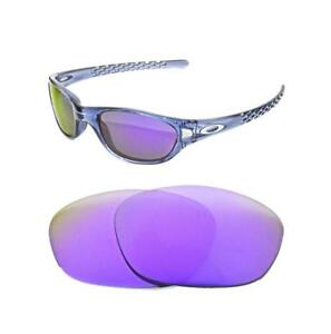 78b4d090457 Image is loading NEW-POLARIZED-PURPLE-REPLACEMENT-LENS-FOR-OAKLEY-FIVES-