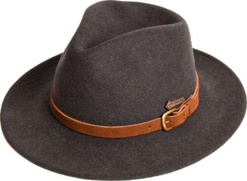 Hut Wollhut »Montero« Country Westernhut Loden Anthrazit Scippis Cowboyhut NEU