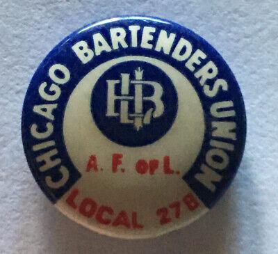 Vintage  IB of TCW/&H of A Union Pinback Badge Button Number 541  AF of L  DR18
