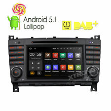 For Mercedes Benz C-Class W203/CLK W209/CLC Android 5.1 Radio DVD GPS Navigation