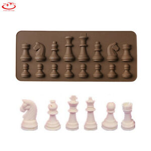 3D-Chess-Silicone-Fondant-Mold-Candy-Chocolate-Mould-Cake-Decorating-Baking-Tool