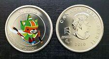 Canada Vancouver 2010 Ice Hockey Mascot SUMI Gem Specimen 50c Coin!!