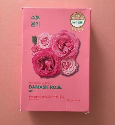 Pure Essence Mask Sheet Damask Rose by holika holika #10
