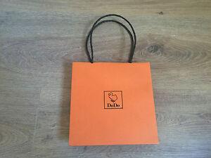 Utilise-DODO-sac-de-Papier-Orange-Orange-Papier-bag