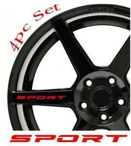 4X-Red-SPORT-Car-Door-Rims-Wheel-Hub-Racing-Sticker-Graphic-Decal-Accessories