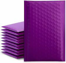 50pcs Poly Bubble Mailers Self Seal Padded Envelopes Bulk Bubble Lined Purple