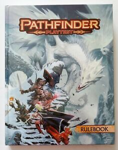 Pathfinder Playtest Rulebook Hardcover