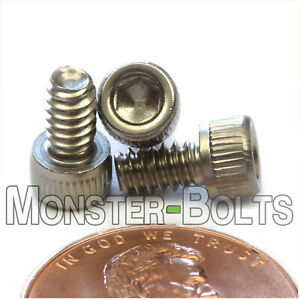 6-32x1//2 Socket Allen Head Cap Screw Stainless Steel #6 x 1//2 100