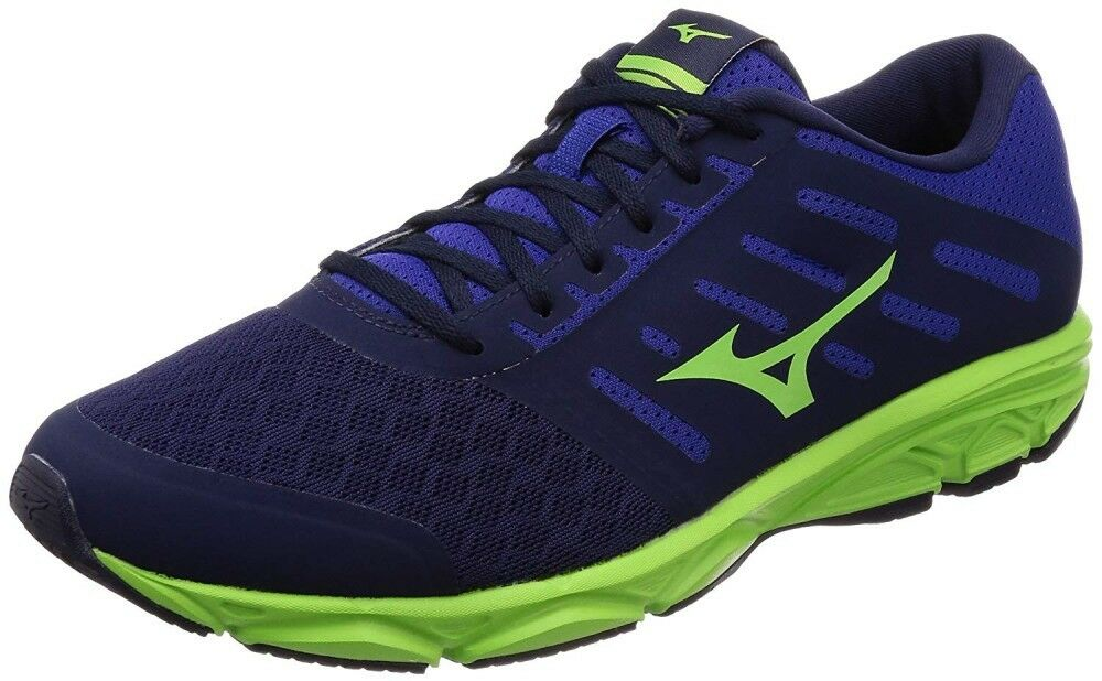 Mizuno Running schuhe Easy Run J1GE1838 Navy × Grün