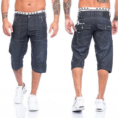 Bermuda Hose Shorts kurze Short Herrenshorts Jeansshorts Denim Sommer H-093