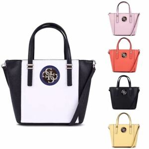 Details about Open Road Small Tote Handbag Hollow Out Logo 5 Colors Bags NWT VG718677
