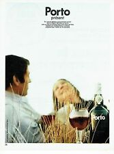 PUBLICITE ADVERTISING 0117  1971  Porto  apéritif 2