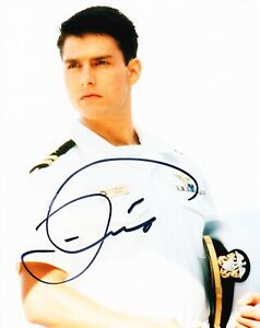 Tom-Cruise-Signed-10X8-Photo-TOP-GUN-Genuine-Autograph-AFTAL-COA-C