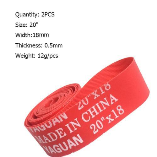 2pcs High Pressure Bicycle Inner Tube Pad Rim Liner 14 26 27.5 29 700C Mat Tape