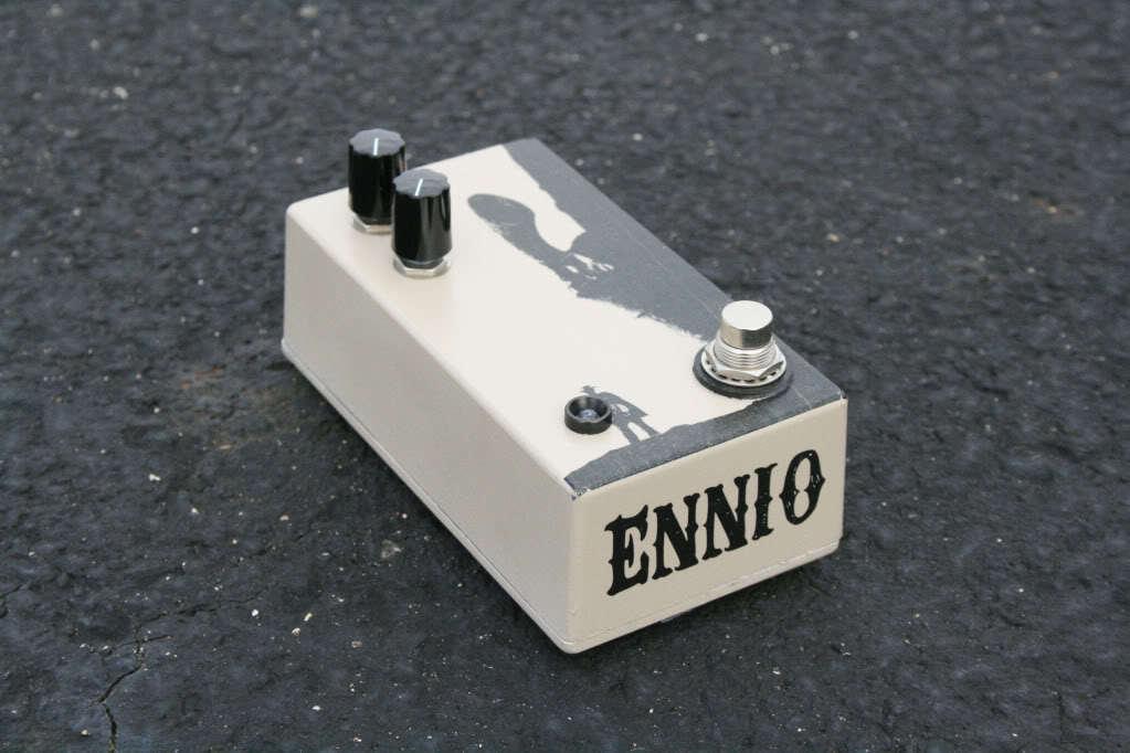 The Ennio Standard Fuzz  - Handwirot Boutique Mosrite Fuzzrite 60s Maestro Fuzz