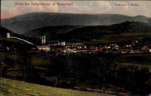 Heiligenkreuz Niederösterreich AK ~1907 Wienerwald Panorama Dorf Gemeinde Kirche