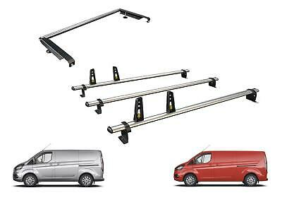 2013 on Van Guard Ulti Bar 2 Roof Bars and 4 Load Stops for Ford Transit Connect