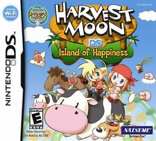 Harvest Moon: Island of Happiness [Nintendo DS DSi NDS, RPG Farm Simulation] NEW
