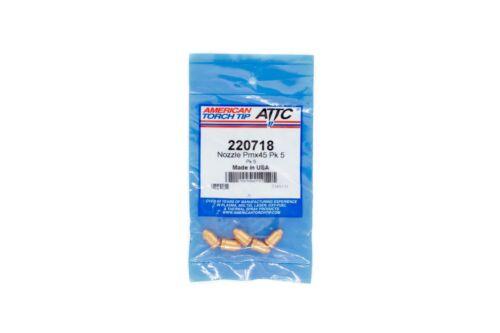 220718 Plasma Cutting Consumable Nozzle Unshielded PMX45 Hypertherm Powermax