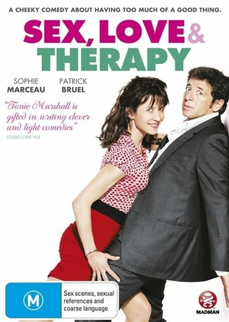 Sex, Love & and Therapy (2015) Tonie Marshall French GENUINE R4 DVD NEW/SEALED