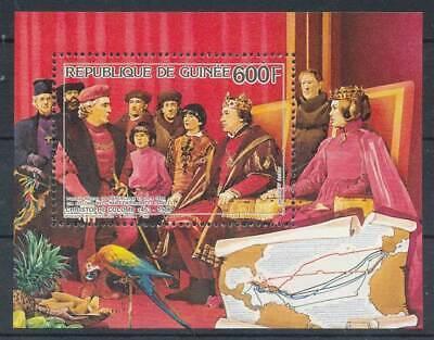 285854) Guinea Block 229** Christoph Kolumbus Reich Und PräChtig