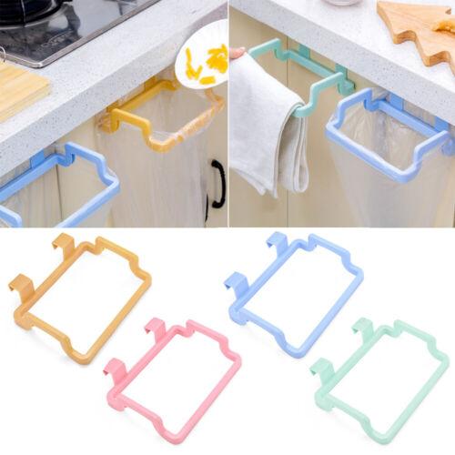 Kitchen Hanging Garbage Trash Rubbish Carrier Plastic Bag Bin Sack Holder Hanger