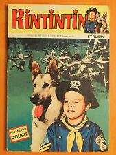 RINTINTIN et Rusty. Le dieu soleil Sagédition N° double 75/76. Rin Tin Tin