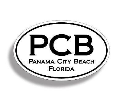 Florida Beach Sticker FL Ocean Scene Water Cup Cooler Car Window Bumper Decal