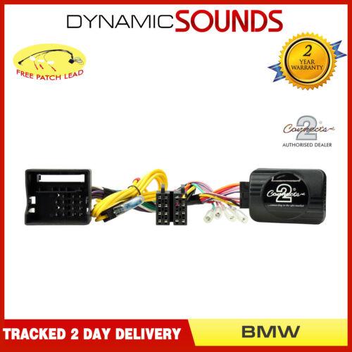 Adaptador de control del volante de tallo Parche Gratis Para BMW 1 Series E81 E82 E87