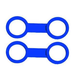 2pcs plastic clip snorkel mask keeper holder retainer for scuba diving YH