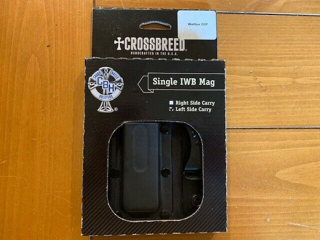 NEW  Crossbreed Single IWB Mag Holster-Walther CCP-Left Side Carry